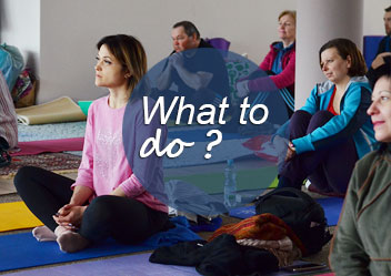 what we do and how we do it meditation program