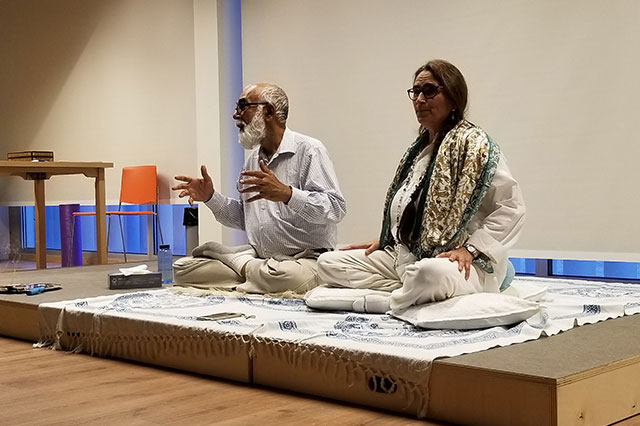 girish jha teaching shanti meditation